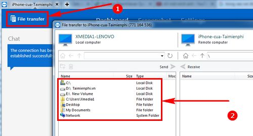 how to use teamviewer quicksupport to connect to a mobile phone 5