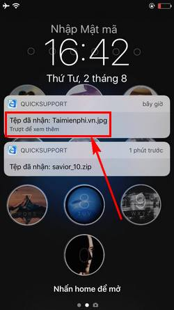 how to use teamviewer quicksupport to connect to your phone 9