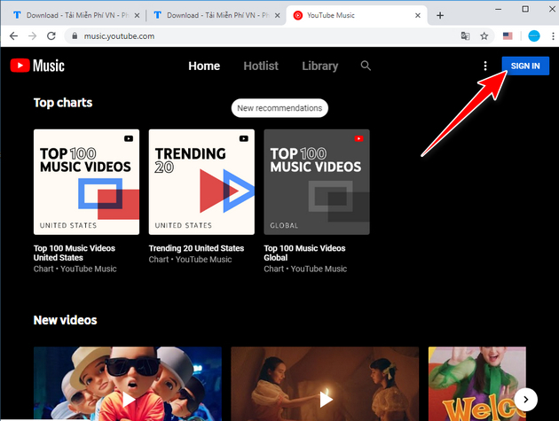 How to use youtube music in Vietnam 4