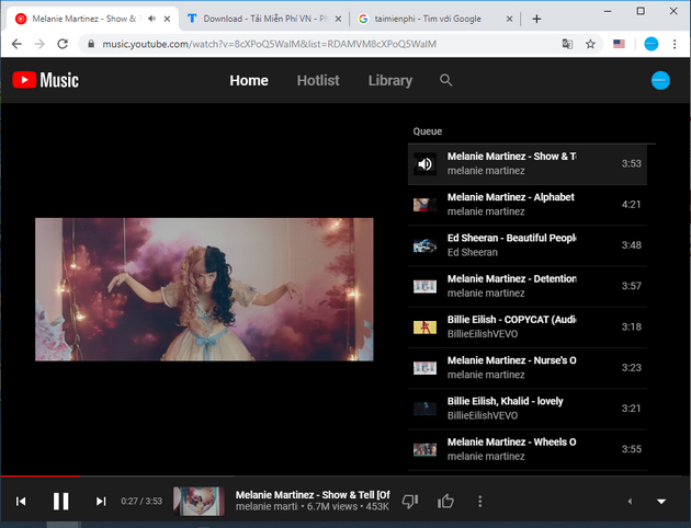 How to use youtube music in Vietnam 5
