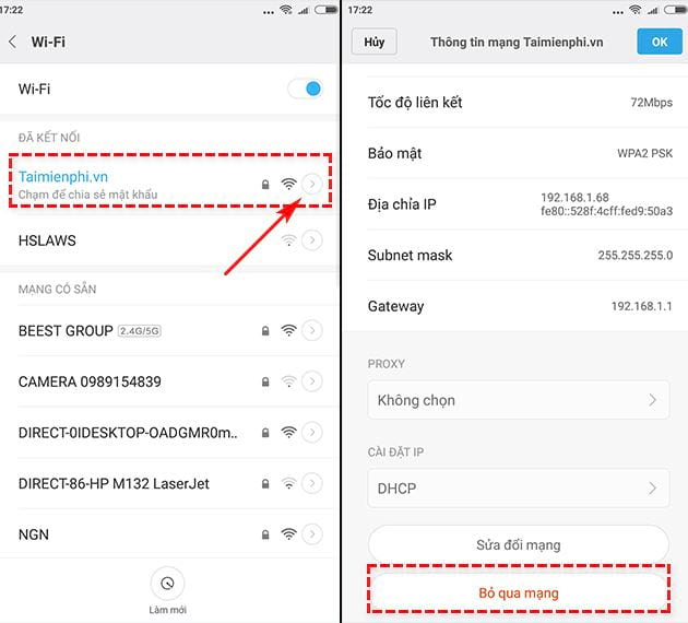 how to fix phone not use wifi 5