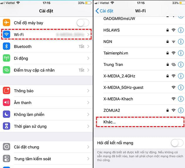 how to fix phone not using wifi 6