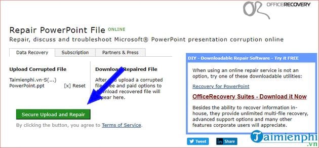 How to fix powerpoint file 23