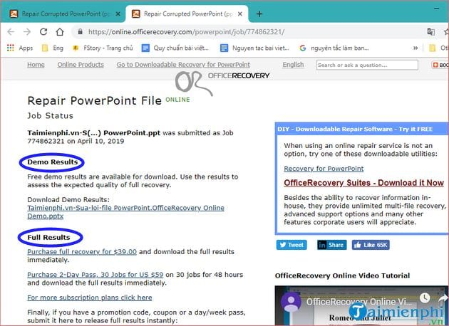How to fix powerpoint file 26