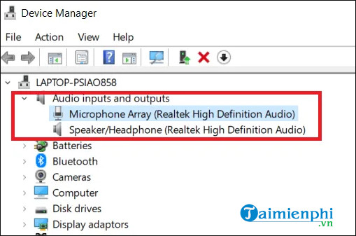 the computer does not recognize a microphone win 10