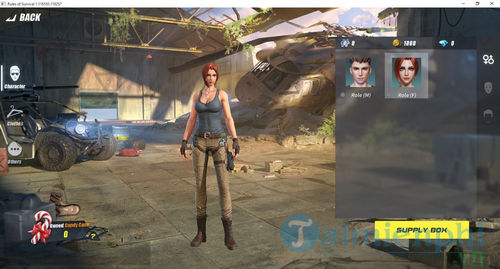 Fix the rules of survival with logo hanging