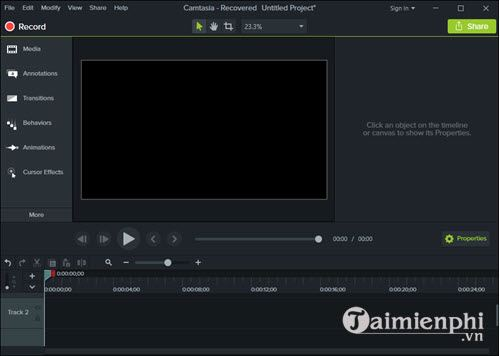 how to remove audio from video with camtasia studio 2