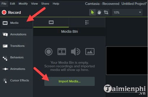 how to remove audio from video with camtasia studio 3