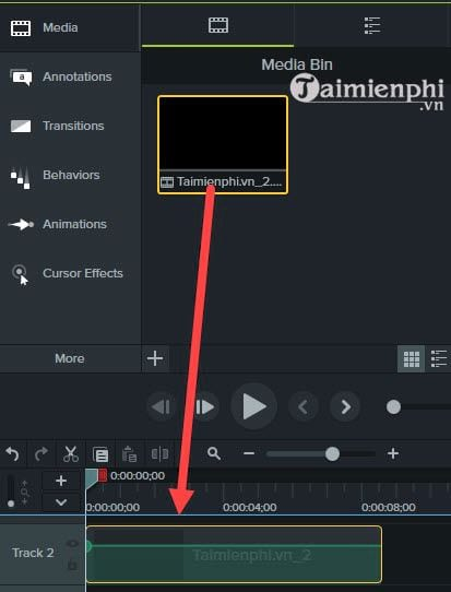 how to remove audio from video with camtasia studio 5