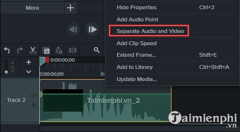 how to remove audio from video with camtasia studio 6