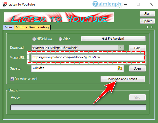 how to do music video listen to youtube 12