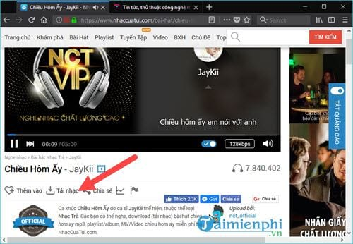 how to download mp3 from nhaccuatui computer 7