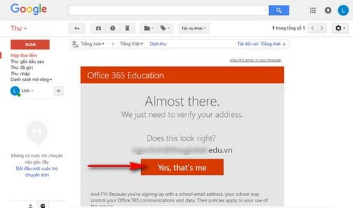 Download to Office 365 for free