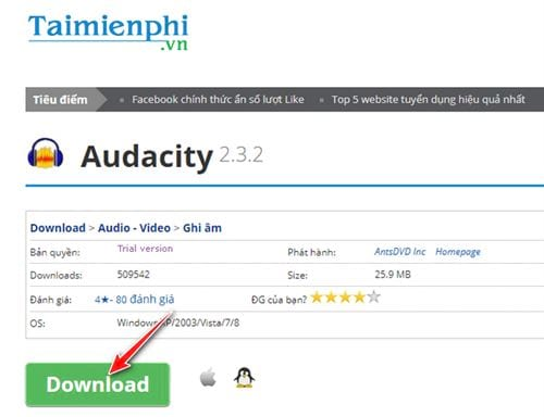 how to install and set the audacity on the computer 2