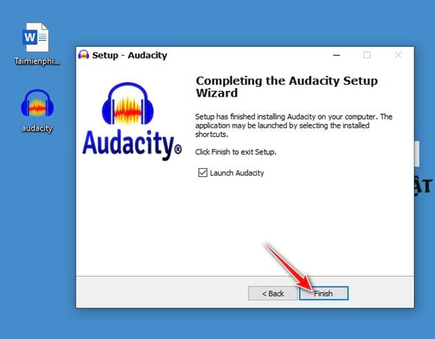 how to set and set the audacity on a computer 11
