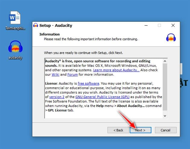 how to install and set audacity on a computer 6