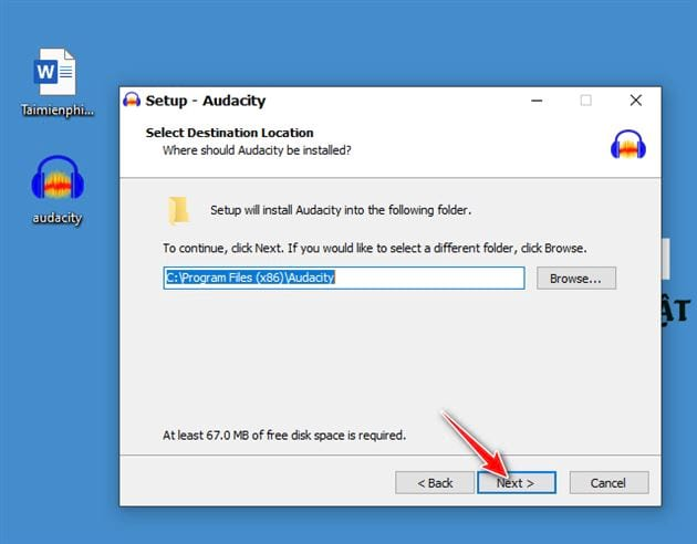 how to install and set audacity on a computer 7