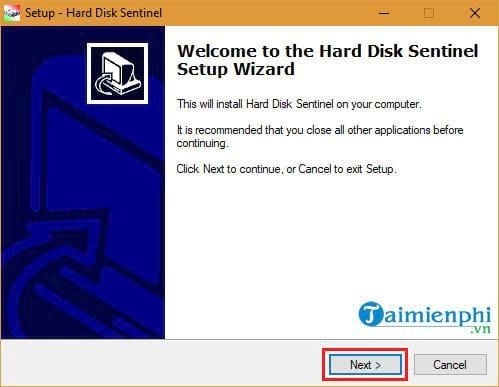 how to install and install hard disk sentinel 2