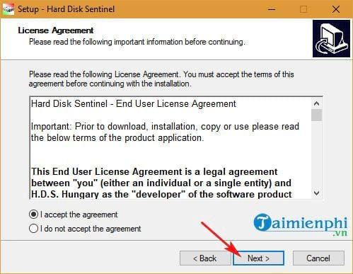 how to install and install hard disk sentinel 3