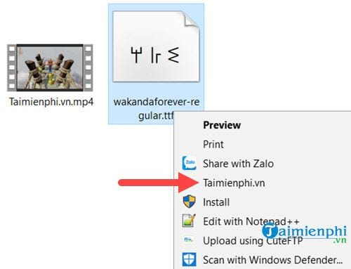 how to download and install wakanda forever black panther font 4