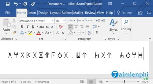 how to download and install wakanda forever black panther font 7