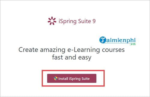 how to download and use ispring suite to create lessons in accordance with e learning 2