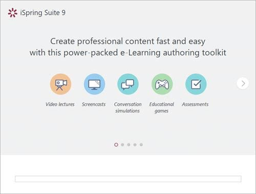 how to download and use the ispring suite to create lessons in accordance with e learning 3