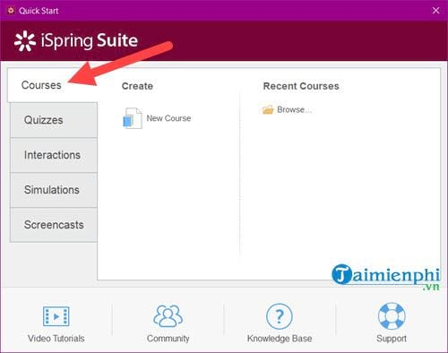 how to download and use the ispring suite to create lessons in accordance with e learning 5