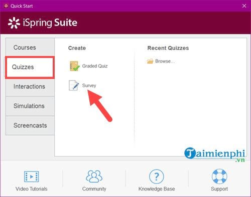 how to download and use the ispring suite to create lessons in accordance with e learning 7