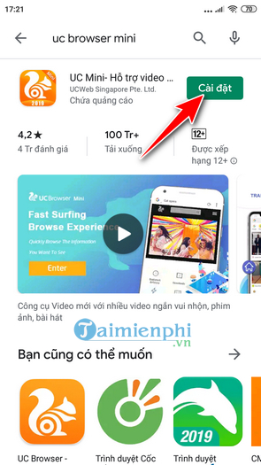 how to download and use the mini browser on your phone 3