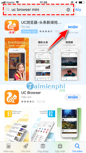 how to download and use the mini browser on your phone 5