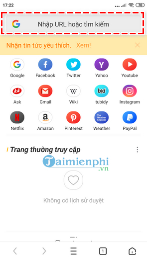 how to download and use the mini browser on your phone 7