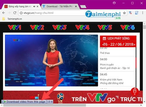 how to download videos on vtv go 4