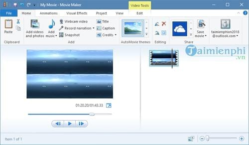 how to create windows movie maker on Windows 10 and create videos from 9