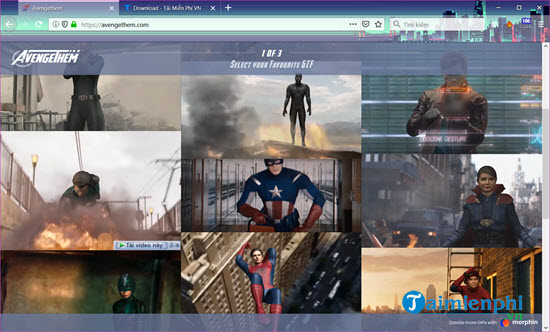how to create a superhero avengers with my face 2