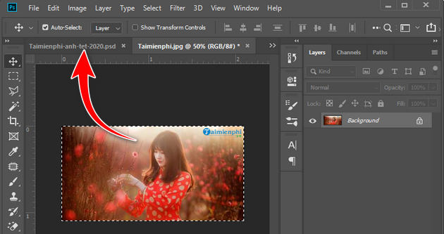 how to create a banner of tet tet 2020 photoshop 5