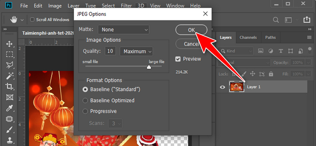 how to create a banner of tet tet 2020 photoshop 10