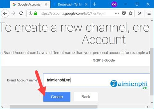 how to create chanel youtube 7