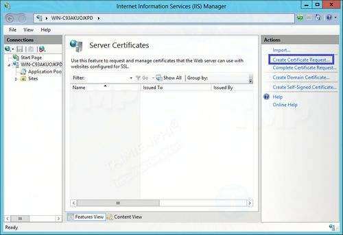 Creating and installing shared data on Windows 8 8 5 3