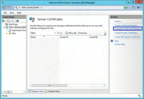 How to create and set up ssl on 8 8 5 9