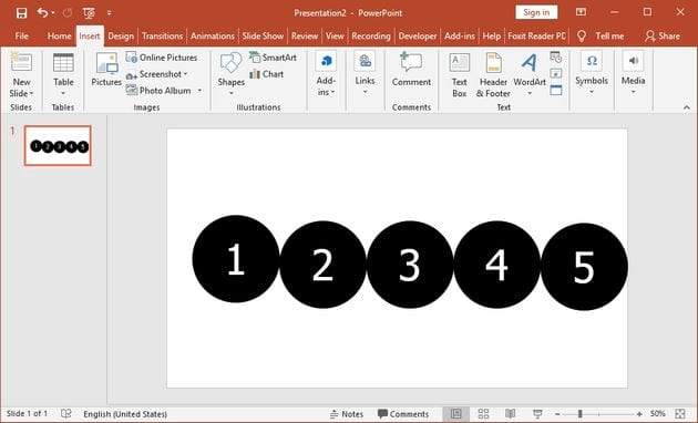how to create a powerpoint on powerpoint 6