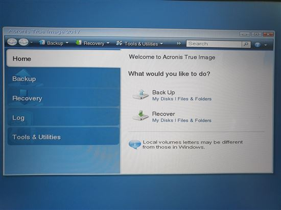 create ghost bang acronis true image 3
