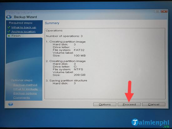 Create ghost file acronis true image 9