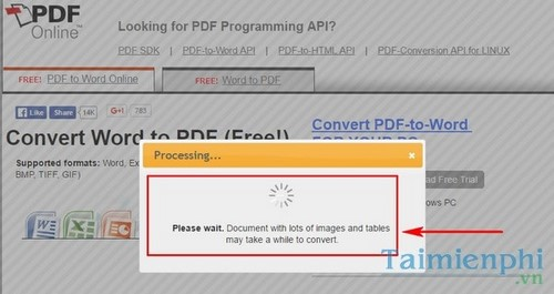 How to create a PDF file from a Word file