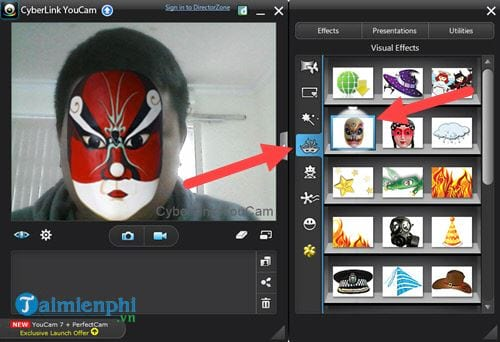 how to create a webcam for youcam cyberlink
