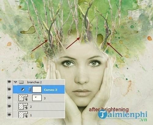 How to create a watercolor canvas for photoshop 19