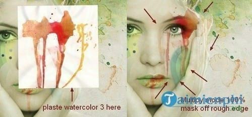 How to create watercolor for your photoshop 33