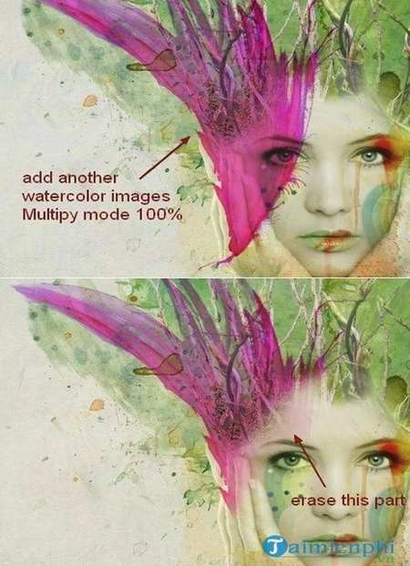 how to create watercolor images for your photoshop 42