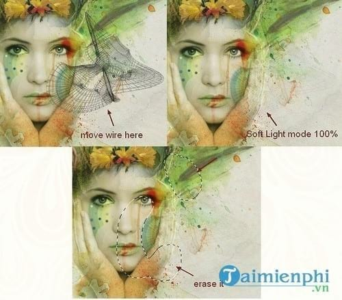 How to create watercolor for photos with photoshop 51
