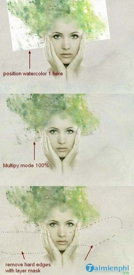 How to create watercolor for your photoshop 10